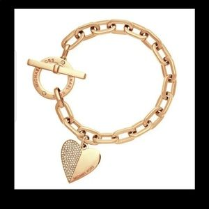 Mk charm bracelet